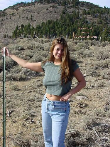Pic #1 - Nikki By The Side Of The Road