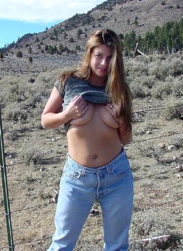 Pic #2 - Nikki By The Side Of The Road