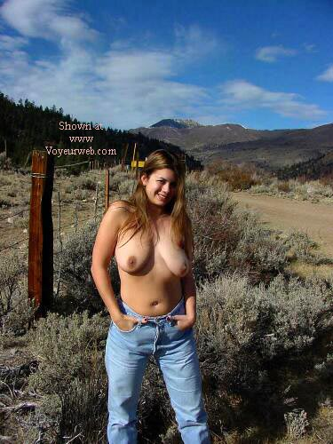 Pic #5 - Nikki By The Side Of The Road