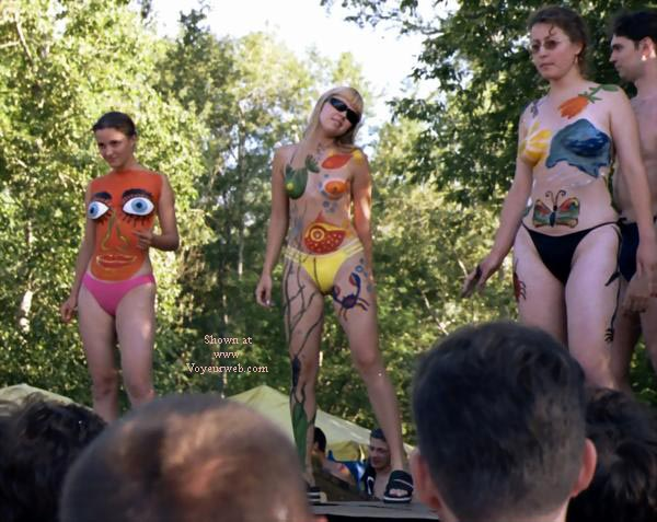 Pic #1 - Summer Moscow Body Paint