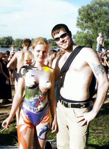 Pic #5 - Summer Moscow Body Paint