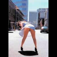 Flashing Ass In Public - Bend Over, No Panties