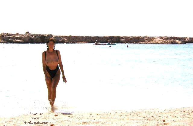 Pic #3 - Kate on the Beach