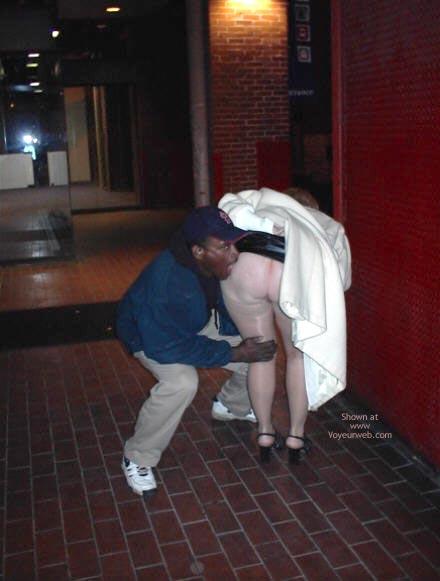 Pic #1 - Rhonda Flashing In St Louis 2
