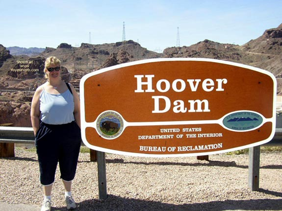 Pic #1 - Wife At Hoover Dam