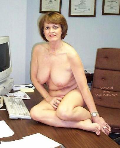 Pic #2 - Sexy Claire at the Office