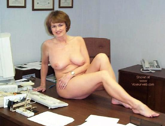 Pic #3 - Sexy Claire at the Office