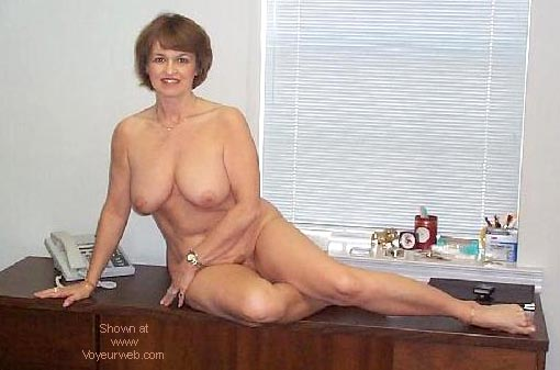 Pic #4 - Sexy Claire at the Office