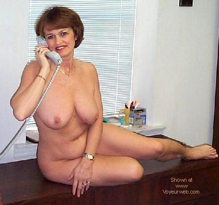 Pic #5 - Sexy Claire at the Office