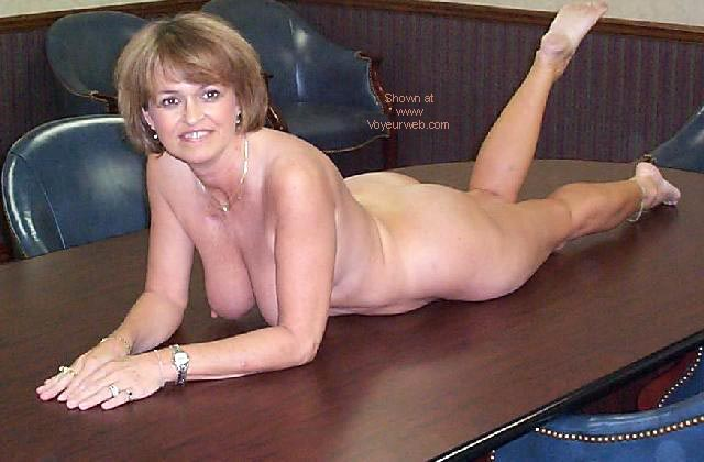 Pic #7 - Sexy Claire at the Office