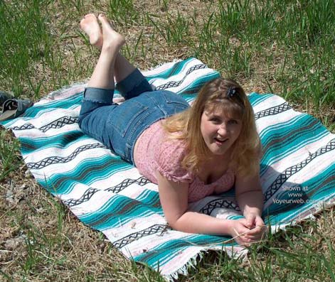 Pic #2 - Anna Naked In The Park Hot 28