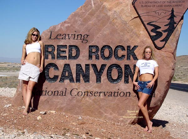 Pic #1 - Angel And Tawnie At Red Rock