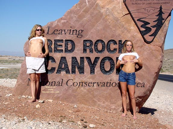 Pic #2 - Angel And Tawnie At Red Rock
