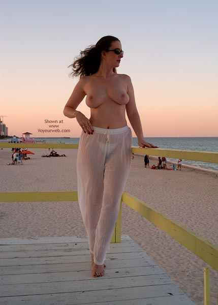 Pic #2 - *Hv English Wife Miami Sunset