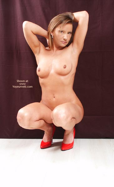 Pic #4 - Susy Rocks Red High Heels