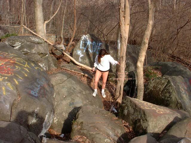 Pic #4 - Rock Climbing My Way!
