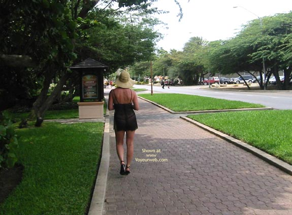 Pic #4 - A Walk On The Street With Renee