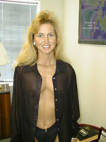 Pic #1 - Brooke at the Office 4