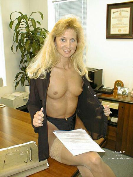 Pic #3 - Brooke at the Office 4