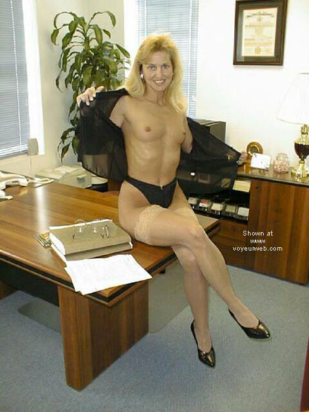 Pic #5 - Brooke at the Office 4