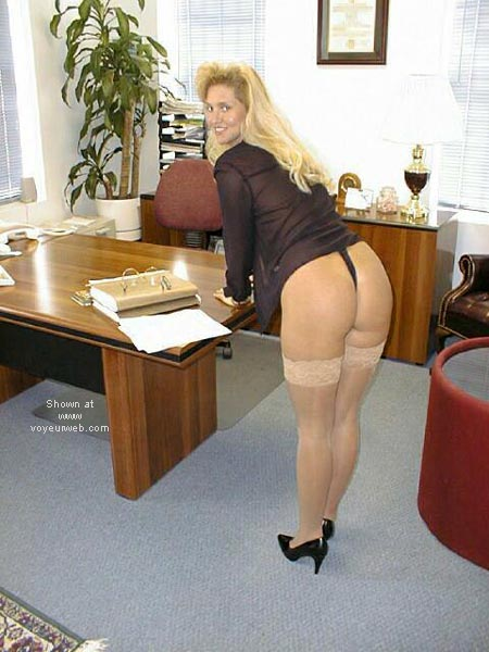 Pic #6 - Brooke at the Office 4