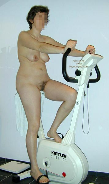 Pic #1 - Maria On The Hometrainer