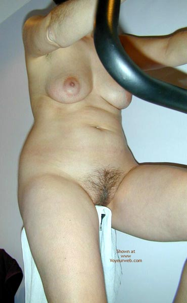Pic #6 - Maria On The Hometrainer