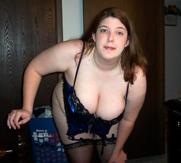 Pic #5 - Wife Possing For Me In A Corset!