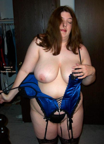 Pic #9 - Wife Possing For Me In A Corset!