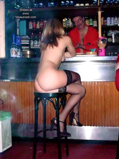 Pic #3 - Lucretia, Nude in a Pub