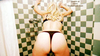 Pic #3 - Blondy In The Shower