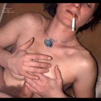 Cheap Girl's Smoking Tits