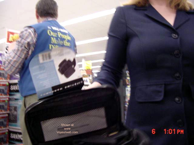 Pic #6 - Amron's Flashing at Walmart!