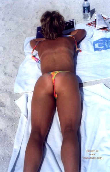 Pic #2 - MY WIFE ON SOUTH BEACH