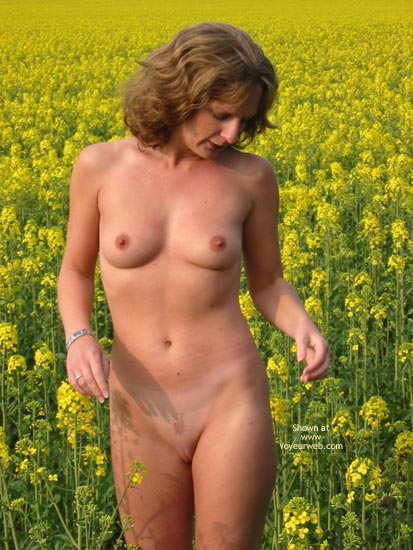 Pic #2 - Saucyminx In Yellow Flowers