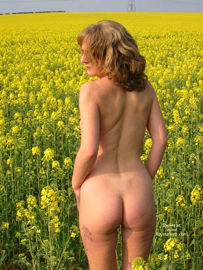 Pic #3 - Saucyminx In Yellow Flowers