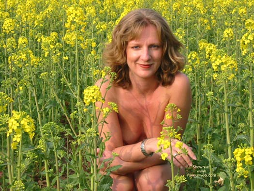 Pic #4 - Saucyminx In Yellow Flowers