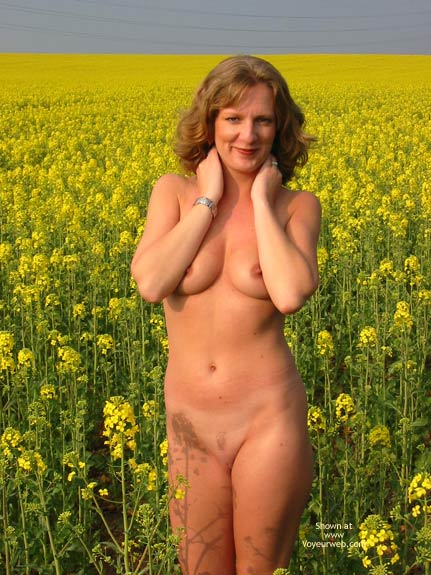 Pic #7 - Saucyminx In Yellow Flowers