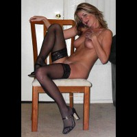 Chair - Chair, Heels, Stockings