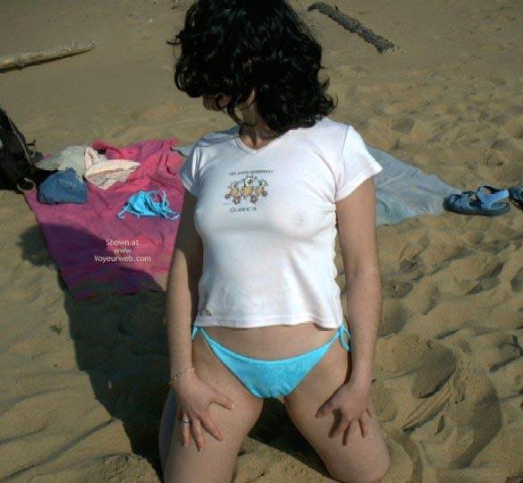 Pic #5 - Spanish Flame In A Nudist Beach