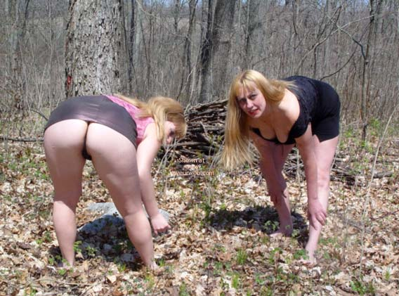Pic #2 - Rox And Rebica  Out For A Walk