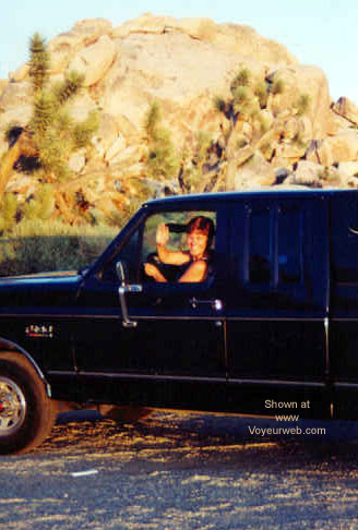 Pic #2 - Vickie in the Desert