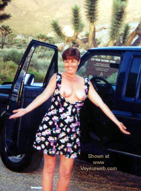 Pic #4 - Vickie in the Desert