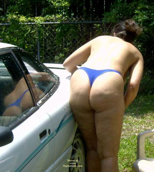 Pic #5 - Wife 48 Car Wash