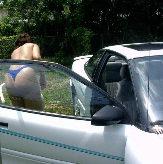 Pic #6 - Wife 48 Car Wash