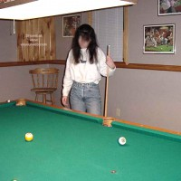 BostonHoney Shooting Pool Part 1