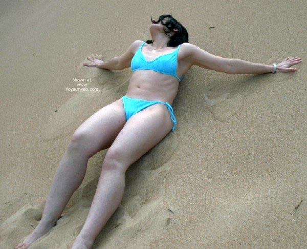 Pic #2 - * Wd Spanish Flame - Blue Bikini