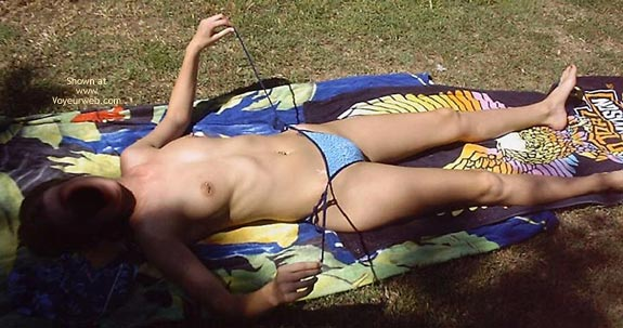 Pic #4 - Tanning Outside