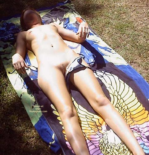Pic #6 - Tanning Outside