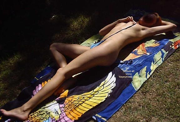 Pic #8 - Tanning Outside
